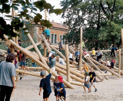 Richter Spielgeräte Climbing Structures play equipment