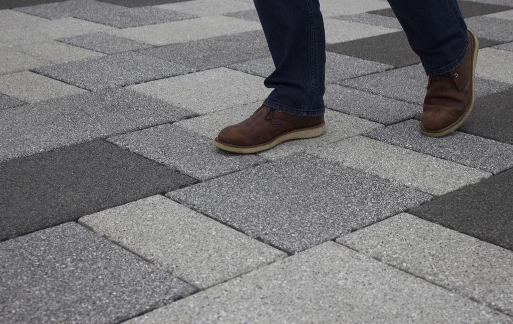 Priora Flag permeable paving