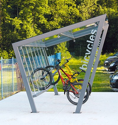 Edge cycle shelter