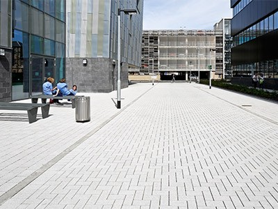 Hydropave Fusion permeable paving